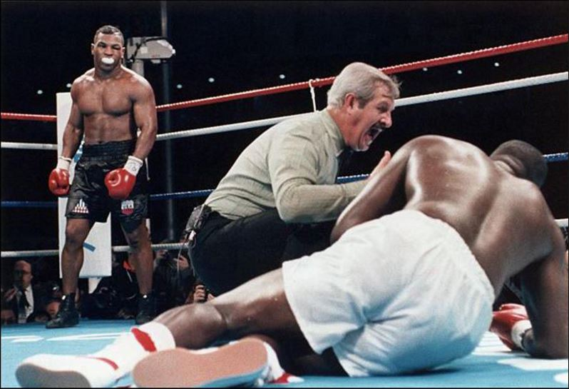 Mike Tyson vs James Buster