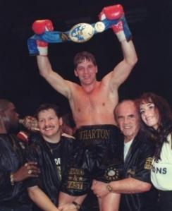 Henry Wharton European Champion
